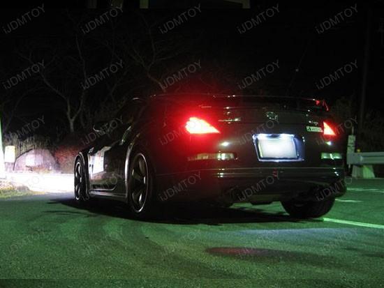 Nissan - 350Z - 168 - LED - license - plate - lights - 2